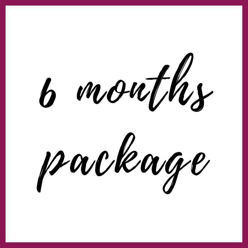 Package for 6 months Coaching Image
